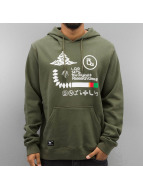LRG Sweat à capuche RC Front Archive olive