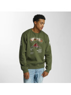 LRG Sweat & Pull Multi Kulture olive