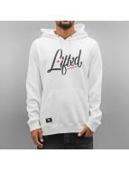 LRG Sweat capuche Research Spec blanc