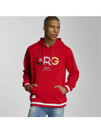 LRG Sweat capuche Research Collection rouge