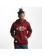 LRG Sweat capuche Upside Down rouge