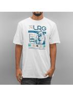 LRG T-shirt Raided bianco