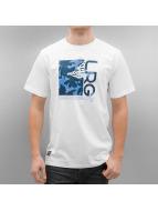 LRG T-shirt Stay Palm Fill bianco