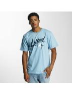 LRG T-shirt Solid Script blå