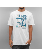 LRG T-Shirt Raided blanc
