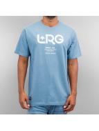 LRG T-Shirt Earth Down blau