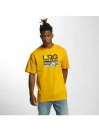 LRG t-shirt Astro Giraffe geel