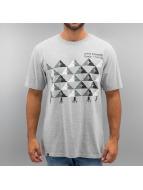 LRG t-shirt Checkered Tree grijs