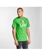 LRG t-shirt Illusion groen