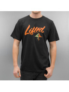 LRG T-shirt Solid Script nero