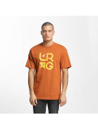 LRG T-Shirt LRG Stacked orange