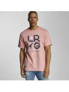 LRG T-shirt LRG Cluster rosa
