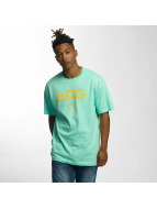 LRG t-shirt Earth Down turquois