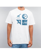 LRG T-Shirt Research Collection Logo Mash Up weiß