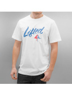 LRG T-Shirt Solid Script weiß