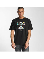LRG t-shirt Geo Tree zwart