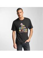 LRG t-shirt Life Colors zwart