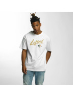 LRG T-Shirts Lifted Script beyaz