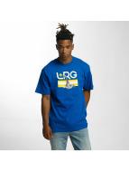 LRG T-shirts Astro Giraffe blå