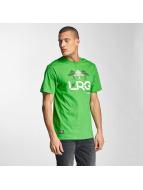 LRG T-Shirts Illusion yeşil