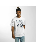 LRG T-Shirty Cluster bialy