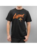 LRG T-Shirty Solid Script czarny