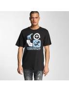 LRG T-Shirty Spray Away czarny