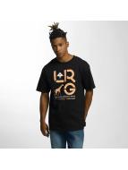 LRG T-Shirty Cluster czarny