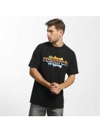 LRG T-Shirty The Upside Down czarny