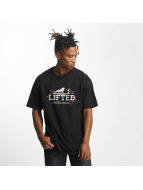 LRG T-Shirty Keep Searching czarny