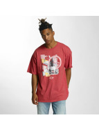 LRG T-Shirty I Love My Beaches czerwony