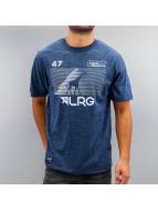 LRG T-Shirty Multi Hit niebieski