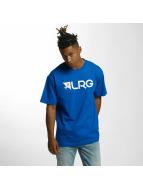 LRG T-Shirty Original People niebieski
