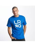 LRG T-Shirty LRG Stacked niebieski