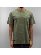 LRG T-Shirty All Natural SS Knit oliwkowy