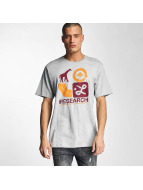 LRG T-Shirty Spray Away szary