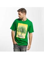 LRG T-Shirty The Grid zielony