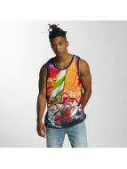 LRG Tank Tops Sink Or Swim niebieski