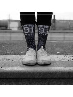 LUF SOX Calcetines Bandana negro