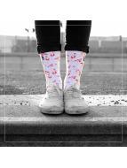 LUF SOX Chaussettes Flamingo multicolore