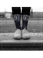 LUF SOX Chaussettes Bandana noir