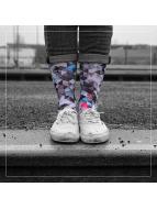 LUF SOX Socken Geogram bunt