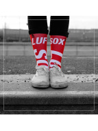 LUF SOX Sokker Official red