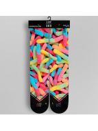 LUF SOX Strumpor Classics Gummy Worms färgad
