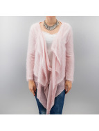 Madonna Cardigan June Fluffy rose