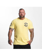 Mafia & Crime Camiseta Criminal Worldwide amarillo