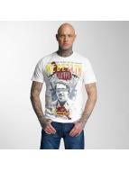 Mafia & Crime T-Shirt Medellin Escobar blanc