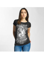 Mafia & Crime T-Shirt Somos La Familia Girls noir