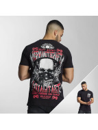 Mafia & Crime T-Shirt Familie schwarz