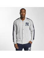 Majestic Athletic Chaqueta de béisbol NY Yankees gris